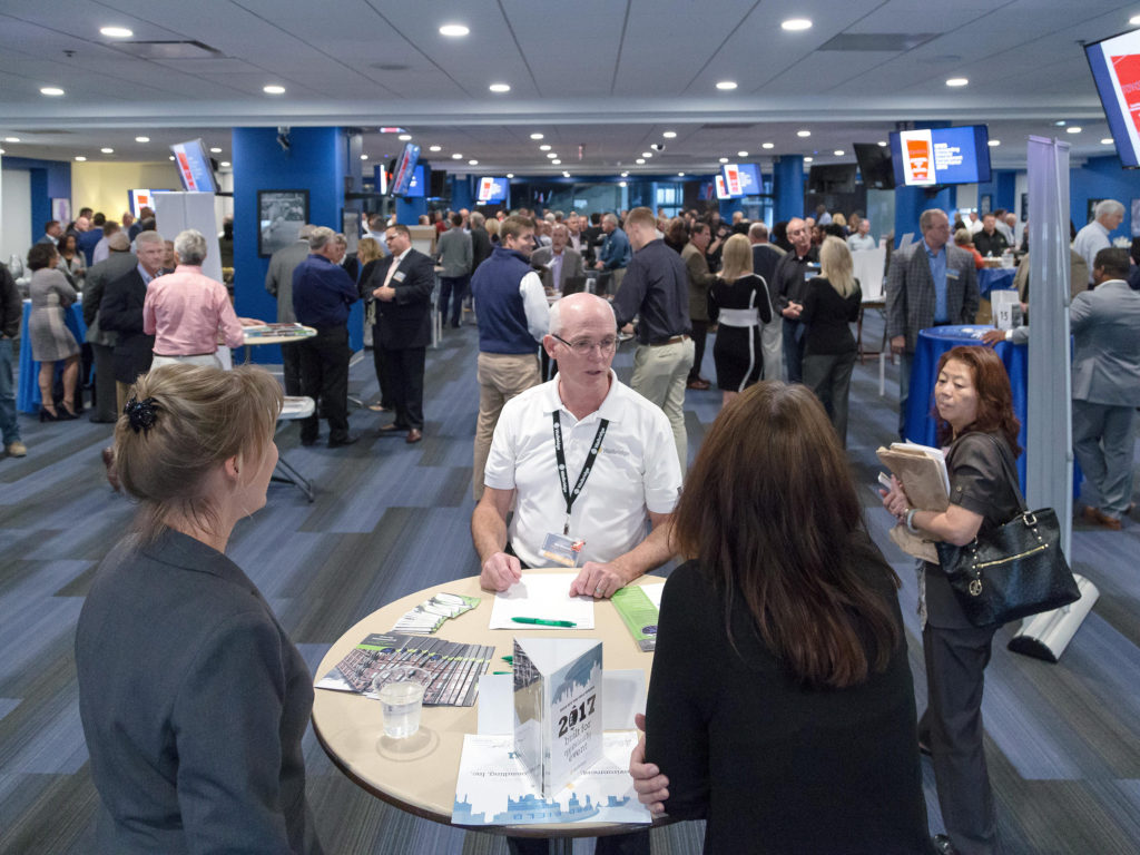 Walbridge's annual Built for Opportunity event focuses on building stronger relationships with subcontractors, suppliers and vendors. This year's event, held at Ford Field in Detroit, drew more than 300 exhibitors and guests.