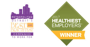 Best and Brightest, Healthiest Employers Logos
