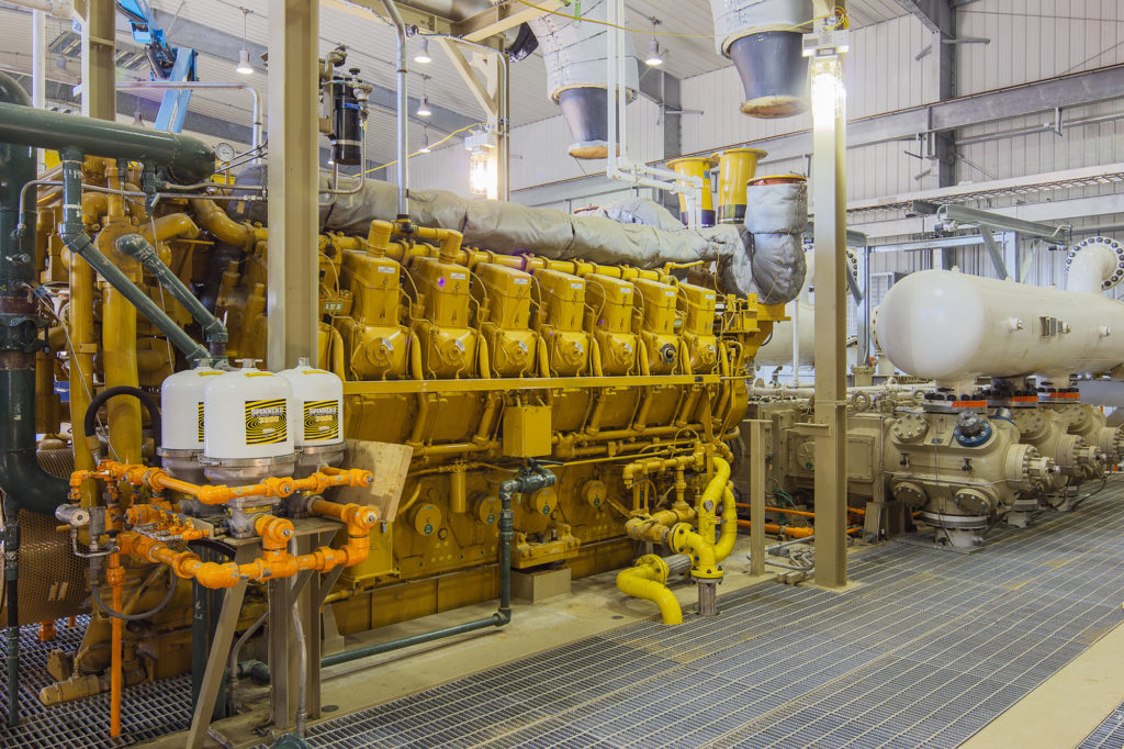 Consumers Energy Ray Compressor Station in Armada, MI | Walbridge