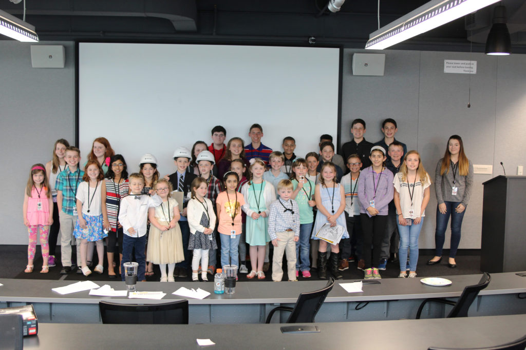Walbridge welcomed the children of employees to Detroit headquarters for the company's first Take Our Daughters and Sons to Work Day on April 27.