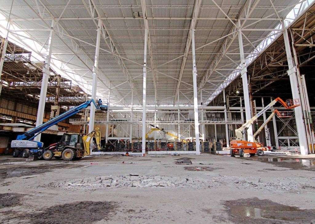 Ford Stamping Plant Renovation Dearborn Mi Walbridge