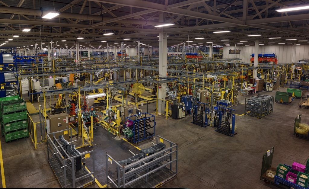 Ford Motor Company Auto Assembly Plant In Flat Rock Mi