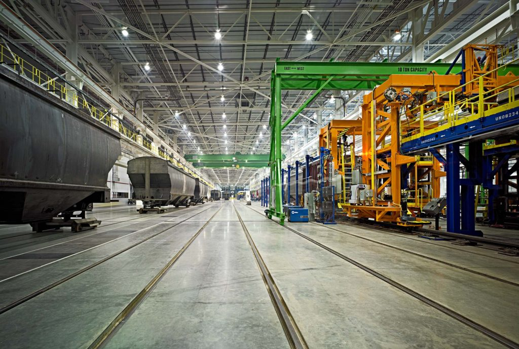 National Alabama Rail Car Manufacturing Facility In