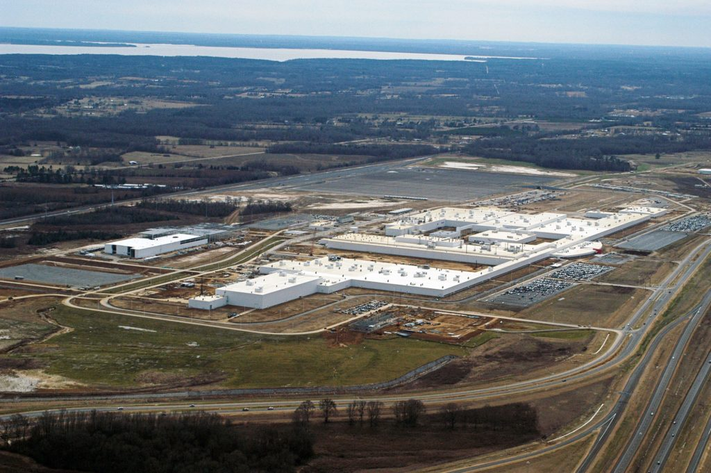 Nissan Automotive Manufacturing Facility In Canton Ms
