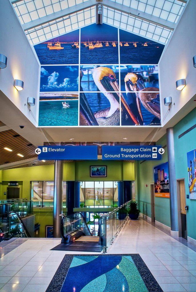 Northwest Florida Beaches Intl. Airport in Panama City, FL ...
