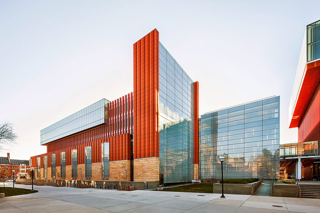 An Addition And Renovation Work At The University Of Michiganu0027s Stephen M.  Ross School Of Business Is An Award Winner After Being Honored By The  Associated ...
