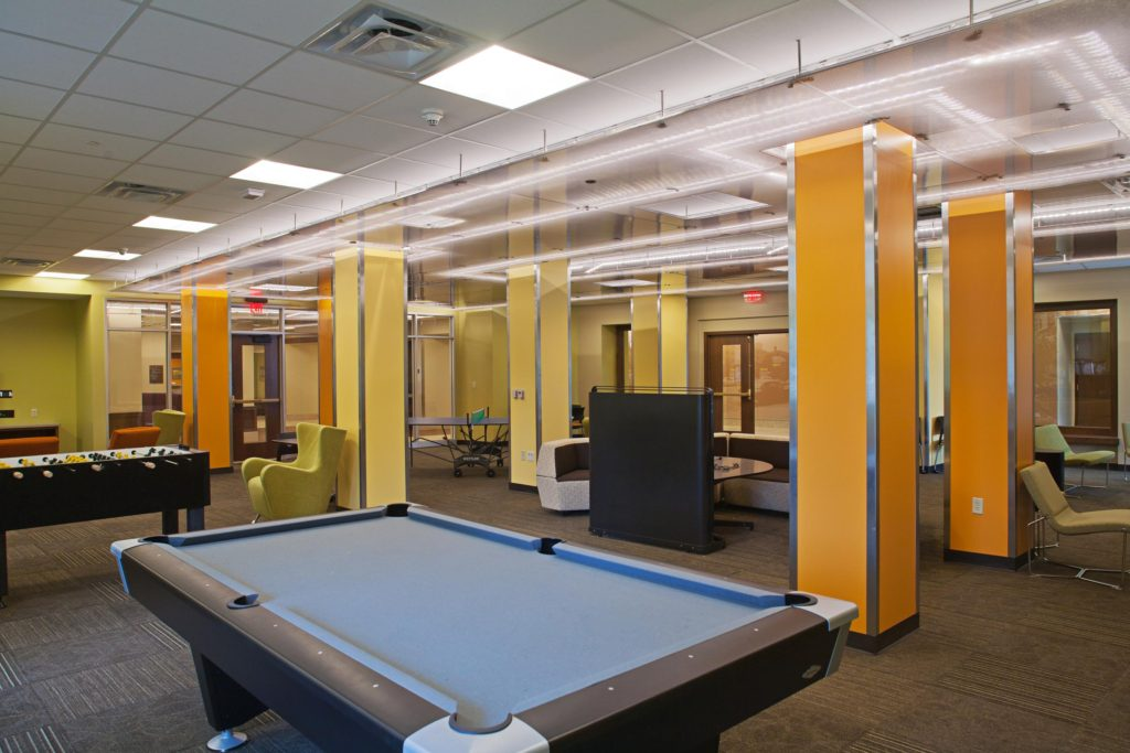University Of Michigan Couzens Hall Renovation Walbridge
