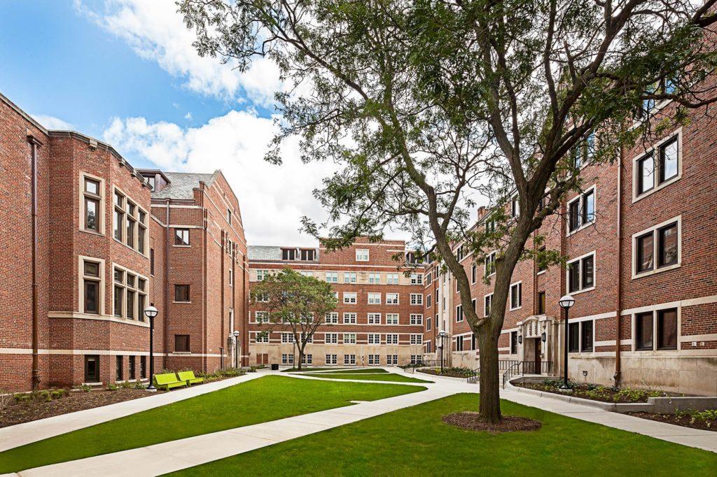 U M West Quad Residence Hall Renovation Ann Arbor Mi