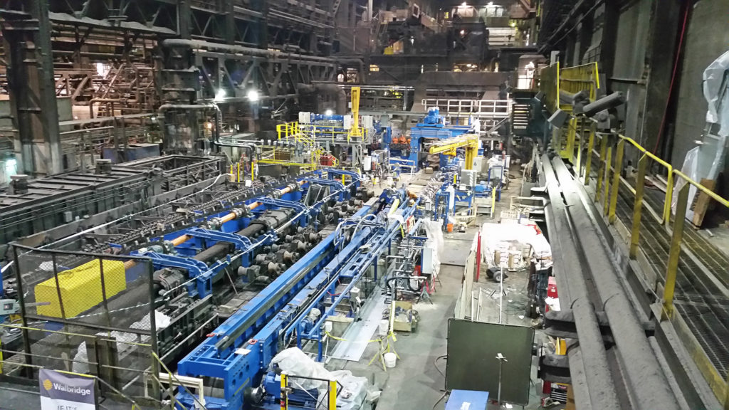 Vallourec Star Lp Piercing Mill In Youngstown Oh Walbridge