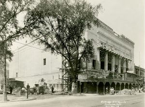Orchestra Hall in Detroit, 1919.