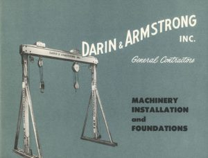 WA acquires contractor Darin & Armstrong of Southfield, MI and several other companies, 1984.