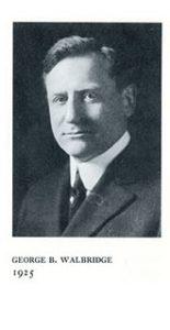 George Walbridge, 1925.