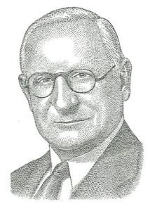 George Walbridge resigns as chairman, 1955.